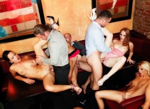 Bachelor Party Orgy #03, Scene #02