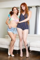 Glamour - Luna Lain & Lauren Phillips picture 3