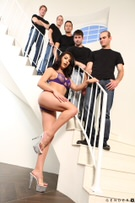 TS Gangbang Auditions - Scene 1 picture 37