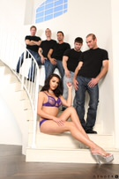TS Gangbang Auditions - Scene 1 picture 42