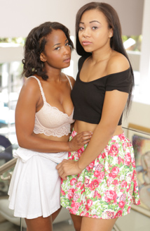 Lesbian Beauties #15 - All Black Beauties Picture