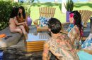 Fucking Young Whores On Vacation - Orgy picture 5