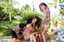 Fucking Young Whores On Vacation - Orgy picture 12